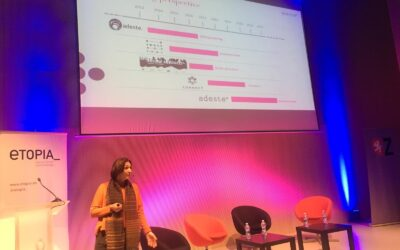"""#Adesteplus in #Conecta19: """"audience is about developing cultural organizations"""""""