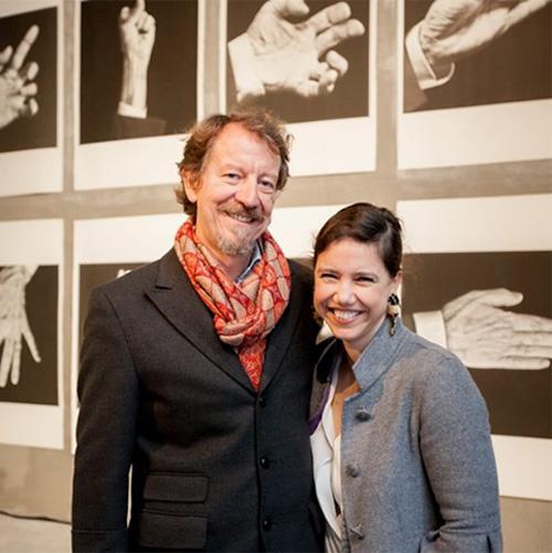 Alda Galsterer and Fernando Belo