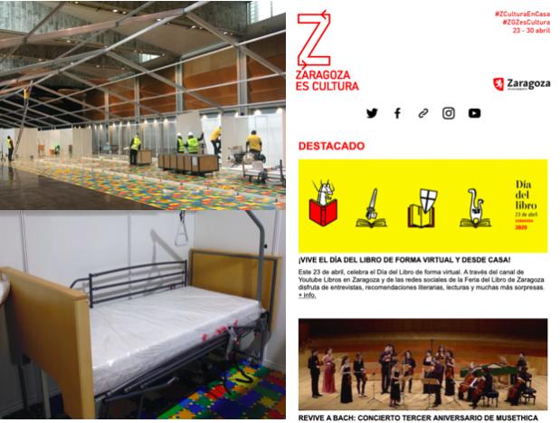 #ZgzEsCultura and Covid-19 crisis