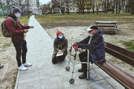 The Polish project team #AdestePlus takes to the streets to talk to the local people. Culture is not just ideas, symbols and artifacts, it is mainly people and their stories
