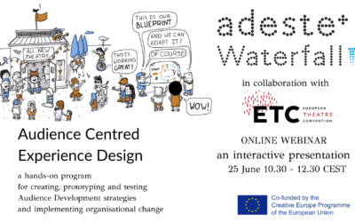 Webinar in Audience Centred Experience Design in collaboration with the European Theatre Convention (ETC)