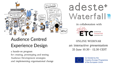 Next June 25 at 10:30 a.m. (CEST) Adeste + will hold a Webinar in collaboration with the European Theater Convention (ETC)