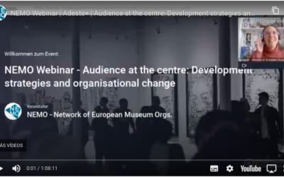NEMO Webinar on audience development strategies and organisational change